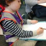 Drawing workshop at the library
